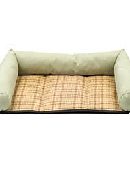 Недорогие -Прочный Одежда для собак Кровати Однотонный / Лолита Лиловый / Зеленый / Розовый Собаки / Коты