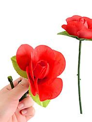 Недорогие -волшебный цветок х - раз выросли (красный)