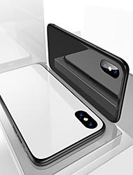 baratos -moda ultra slim vidro temperado capa protetora completa de volta para o iphone x