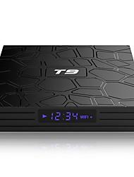 Недорогие -T9 ТВ-бокс 4 ГБ оперативной памяти 64 ГБ ROM Android 9,0 ТВ-бокс T9 RKCHIP Quadcore USB 3.0 4 КБ приставка 2.4 г / 5 г двойной Wi-Fi 2g16g Smart Media Player