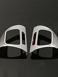 Недорогие -стальное кольцо колеса хромированная крышка для Volkswagen VW Golf MK6 Jetta Passat B7 CC