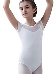 Χαμηλού Κόστους -Παιδικά Ρούχα Χορού / Μπαλέτο Φορμάκια Κοριτσίστικα Εκπαίδευση Βαμβάκι Διαφορετικά Υφάσματα Φορμάκι / Ολόσωμη φόρμα