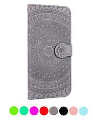 abordables -Funda Para Samsung Galaxy Galaxy S10 E / Galaxy S10 5G Soporte de Coche / Flip / En Relieve Funda de Cuerpo Entero Un Color Dura Cuero de PU para S9 / S9 Plus / S8 Plus