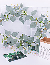 Недорогие -70 дюймов длиной 3 лозы на стене свадебный пастырское растение цветок на стене