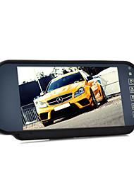 Недорогие -Монитор зеркала заднего вида и мультимедийный проигрыватель MP4 - 7-дюймовый громкой связи Bluetooth
