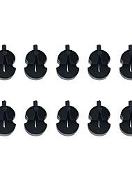 Недорогие -профессиональный Аксессуары для скрипки / Инструменты VT0908-220 Скрипка Натуральная резина Аксессуары для музыкальных инструментов 2.7*0.7*1.8 cm