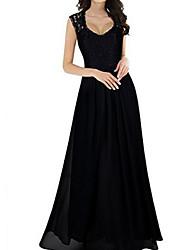 Недорогие -женская макси линия платье вино чёрный зелёный с м л хл
