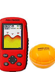 Недорогие -Радара 1 pcs 139.7 mm ЖК-дисплей 0.6-30 m Беспроводной Беспроводной Перезаряжаемая Обычная рыбалка