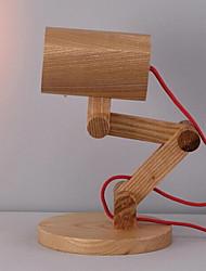 Недорогие -Современный современный Новый дизайн Настольная лампа Назначение Спальня / Кабинет / Офис Дерево / бамбук 220 Вольт
