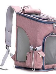 Недорогие -Собаки Кролики Коты Переезд и перевозные рюкзаки Животные Корпусы Для спорта Складной Прочный Однотонный Мода Синий Розовый