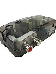 Недорогие -12v td-22 авто автомобильный аудио конвертер стерео адаптер уровня громкоговорителя линии высоких и низких частот