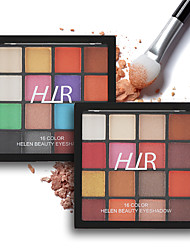 abordables -16 colores Sombras de Ojos Ojo / Belleza y Spa / Universal Impermeable / Diseños de Moda / Transpirable / Duradero / perdurable Transpirable Larga Duración Duradero Maquillaje de Diario / Maquillaje