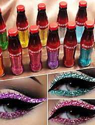 Недорогие -Марка Cmaadu красочные вспышки блестящий блеск порошок подводка для глаз водонепроницаемый блестки теней для век жидкость для глаз косметика