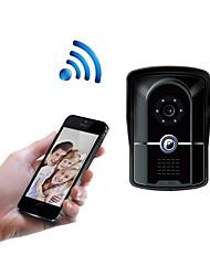 olcso -wifi1001fg wifi ajtócsengő ip55 vízálló hd 1080p vízálló videó ajtócsengő hívás intercom távoli nyitás