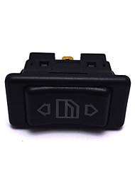 Недорогие -Кнопка переключателя окна электрической силы 12v / 24v 20a 6pin автоматическая для всех автомобилей с зеленым светом водить переключателем кнопки автомобиля