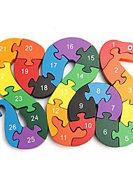Недорогие -LITBest Устройства для снятия стресса Геометрический узор деревянный Детские Все Игрушки Подарок