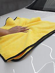 Недорогие -92 * 56см мягкая микрофибра шлифовка флис автомойка полотенце набор для химической чистки набор для чистки автомобиля