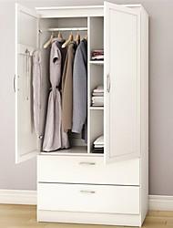Недорогие -шкаф для одежды для спальни белый шкаф с 2 ящиками