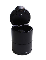 Недорогие -Портативный автомобиль пепельница синий светодиод свет бездымного пепельница мундштук противоскользящая резиновая боттон