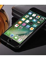 baratos -Luxo slim 3 em 1 híbrido armadura difícil case para apple iphone 6 plus / 6 s além de corpo inteiro 360 grau de proteção caso tampa traseira