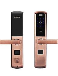 Недорогие -смарт-отпечатков пальцев домашней безопасности дверной замок пароль блокировки дверной замок электронная карта безопасности замок удаленной блокировки