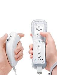 Недорогие -топон нунчук&комплект удаленного игрового контроллера для Nintendo Wii