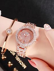 preiswerte -Damen Quartz Uhr Freizeit Modisch Silber Gold Rotgold Legierung Chinesisch Quartz Gold Silber Rotgold Neues Design Armbanduhren für den Alltag 1 Stück Analog Ein Jahr Batterielebensdauer
