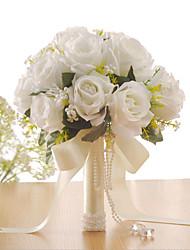 Недорогие -Свадебные цветы Букеты Свадьба / Особые случаи Ткань 31-40 cm