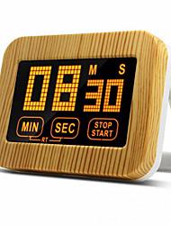 Недорогие -ABS + PC Kitchen Timer Электрический Цифровой ЖК-дисплей Кухонная утварь Инструменты Для приготовления пищи Посуда 1шт