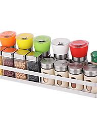 رخيصةأون -جودة عالية مع الفولاذ المقاوم للصدأ اكسسوارات مجلس الوزراء لأواني الطبخ مطبخ تخزين 2 pcs