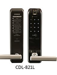 Недорогие -Factory OEM 821L Алюминиевый сплав Интеллектуальный замок Умная домашняя безопасность система Отпирание отпечатка пальца / Разблокировка пароля / Разблокировка ключа Дом / офис Дверь безопасности
