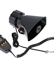 Недорогие -7-звук громкий автомобиль сигнализация полиция пожарная сирена воздуха рог спикер 12 В 100 Вт