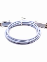 Недорогие -Подсветка Кабель OTG Нержавеющая сталь Адаптер USB-кабеля Назначение iPhone