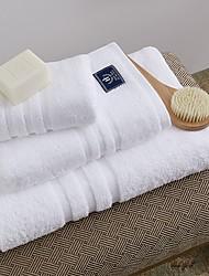 Недорогие -Высшее качество Банное полотенце, Однотонный Чистый хлопок Ванная комната 1 pcs
