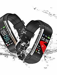 Недорогие -KUPENG R1 Женский Умный браслет Android iOS Bluetooth Водонепроницаемый Сенсорный экран Пульсомер Измерение кровяного давления Израсходовано калорий