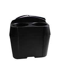 Недорогие -многофункциональный автомобиль использовать подлокотник ящик для хранения кубок сиденье мусорный бак