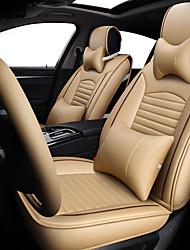Недорогие -накидка на сиденье автомобиля новый сезон 4 кожаное белье общего назначения удобная дышащая подушка сиденья / пять сидений / общий моторный чехол на сиденье