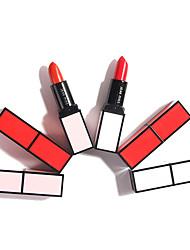 abordables -1 pcs De Un Color Maquillaje de Diario Portátil / Fácil de llevar Mate Larga Duración / Casual / Diario Moda Maquillaje Cosmético Útiles de Aseo