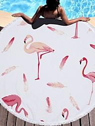 Недорогие -Высшее качество Пляжное полотенце, Животное 100%микро волокно 1 pcs