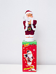 voordelige -Holiday Decorations Kerstversieringen Kerstversieringen Decoratief Rood 1pc