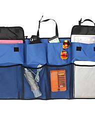 Недорогие -Многофункциональная сетка из нейлона с сумкой для хранения багажника на заднем сиденье с подвеской для бутылки с водой