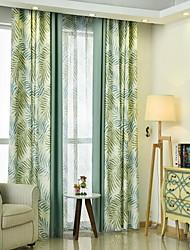 رخيصةأون -معاصر تعتيم لوحتين ستارة غرفة الجلوس   Curtains