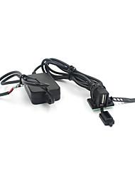 Недорогие -2a понижающее напряжение мотоцикла комплект зарядного устройства USB водонепроницаемый адаптер для зарядки мобильного телефона с клейкой лентой кабельная стяжка