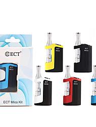 Недорогие -Оригинальные электронные сигареты ect micro с подогревом портативные аккумуляторы для взрослых