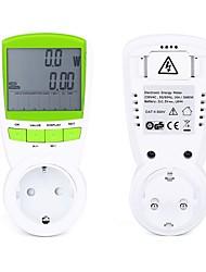 Недорогие -us / uk plug ts-838 жк-счетчик энергии напряжение питания электрический ток тест измерения мощности розетка розетка вилка адаптер