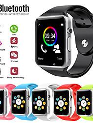 Недорогие -Муж. Спортивные часы Цифровой Современный Спортивные силиконовый Нет Bluetooth Smart Календарь Цифровой На открытом воздухе Мода - Синий Розовый Черный / Серебристый