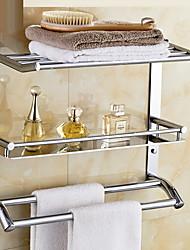 Недорогие -Полка для ванной Креатив Современный Нержавеющая сталь 1шт - Ванная комната На стену