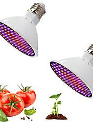Недорогие -Красный и синий свет лампы сотрудничества полный спектр светодиодные освещения роста растений заполнить свет овощной цветочный горшок в горшке конопли в помещении разведения 20 Вт ac85-265v