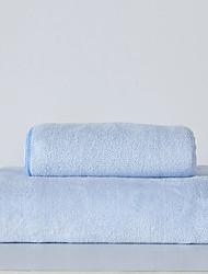 Недорогие -Высшее качество Банное полотенце, Однотонный / Мода 100%микро волокно Ванная комната 1 pcs