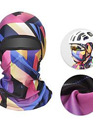 Недорогие -XINTOWN bivakmutsen Защита от солнечных лучей Устойчивость к УФ Дышащий Защитный Велоспорт Синий+Розовый Камуфляжный Синий для Универсальные Взрослые / Эластичная